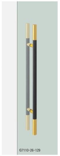 UNION ユニオン ドアハンドル ミドル G7110-26-129 内/外1セット