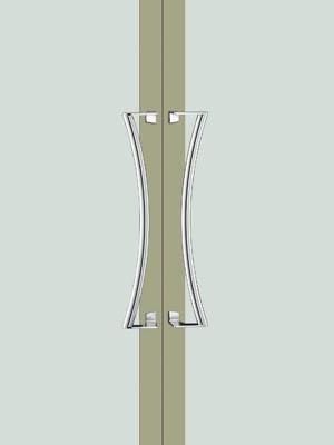 UNION ユニオン ドアハンドル ミドル T9936-01-001 内/外1セット