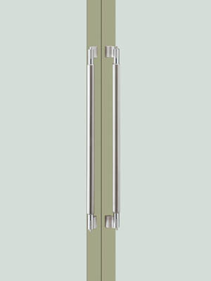 UNION ユニオン ドアハンドル ミドル T3012-01-024 内/外1セット