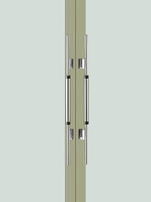 UNION ユニオン ドアハンドル ミドル T6050-06-018 内/外1セット