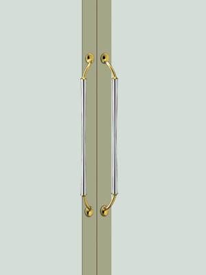 UNION ユニオン ドアハンドル ミドル T989-02-001 内/外1セット