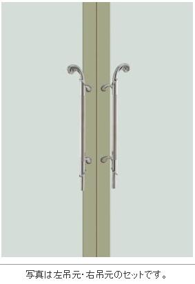 UNION ユニオン ドアハンドル ミドル T995-01-024-L/R 内/外1セット
