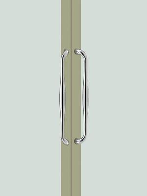 UNION ユニオン ドアハンドル ミドル T3301-01-001 内/外1セット