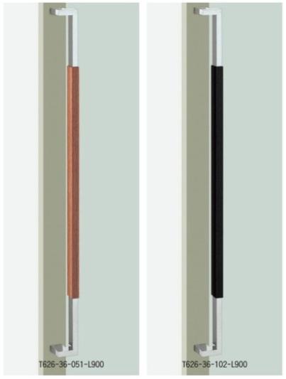 UNION ユニオン ドアハンドル ミドル T626-36-051/102-L900 内/外1セット