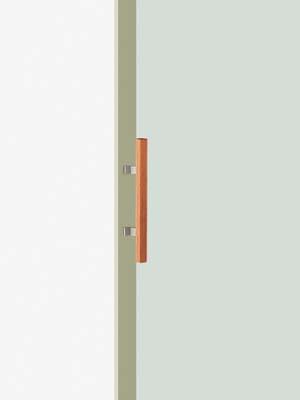 UNION ユニオン ドアハンドル ミドル T220-35-050-L400 内/外1セット