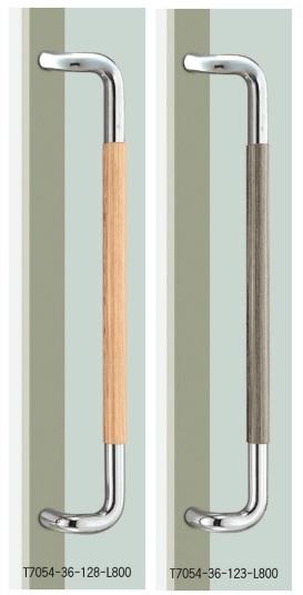 UNION ユニオン ドアハンドル ミドル T7054-36-128/123-L800 内/外1セット