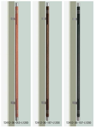 人気沸騰ブラドン ドアハンドル ユニオン T2412-36-053/187/107-L1200 内/外1セット:家づくりと工具のお店 家ファン! UNION ミドル-木材・建築資材・設備