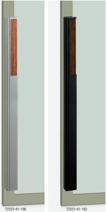 UNION ユニオン ドアハンドル セミロング T2323-41-196/162 内/外1セット