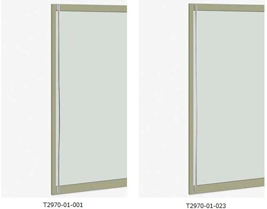 UNION ユニオン ドアハンドル ロング T2970-01-001/023 内/外1セット※