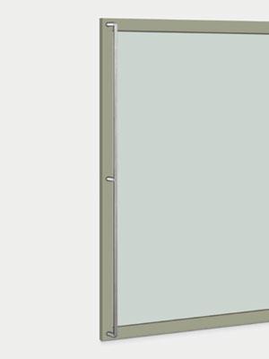 UNION ユニオン ドアハンドル ロング T2717-10-010-B 内/外1セット※