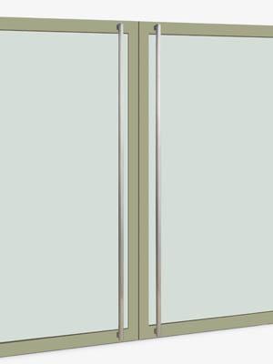 UNION ユニオン ドアハンドル ロング T53-01-023-P2025 内/外1セット※