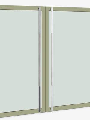 UNION ユニオン ドアハンドル ロング T67-01-001-B 内/外1セット※