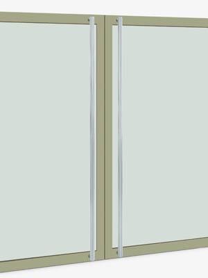 UNION ユニオン ドアハンドル ロング T57-01-023-B 内/外1セット※