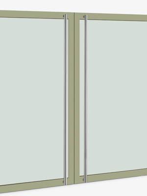 UNION ユニオン ドアハンドル ロング T54-01-001-P1925 内/外1セット※