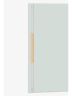 UNION ユニオン ドアハンドル ロング G2690-20-798-B 内/外1セット※