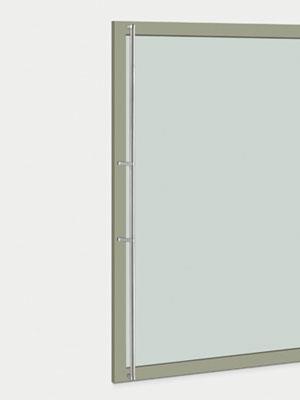 UNION ユニオン ドアハンドル ロング T2850-11-010-A 内/外1セット※