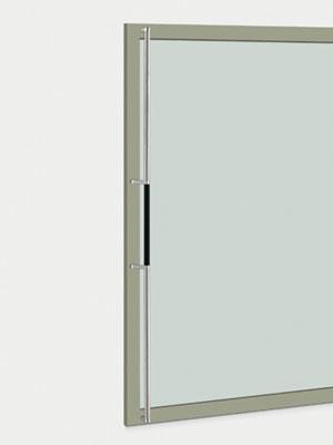 UNION ユニオン ドアハンドル ロング T2850-11-890-P2025 内/外1セット※