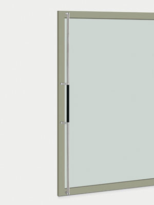 UNION ユニオン ドアハンドル ロング T2850-11-890-A 内/外1セット※