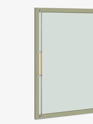 UNION ユニオン ドアハンドル ロング T2602-31-708-P2025 内/外1セット※