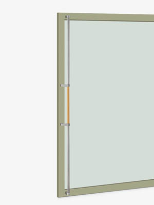 UNION ユニオン ドアハンドル ロング T2602-31-708-A 内/外1セット※