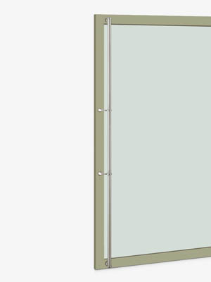UNION ユニオン ドアハンドル ロング T2562-11-010-A 内/外1セット※
