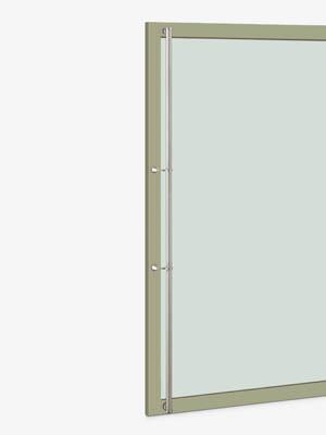 UNION ユニオン ドアハンドル ロング T2562-11-010-B 内/外1セット※