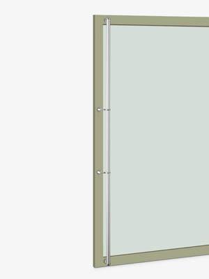 UNION ユニオン ドアハンドル ロング T2562-21-130-A 内/外1セット※