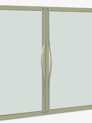 UNION ユニオン ドアハンドル ロング T69-01-024-P1925 内/外1セット※