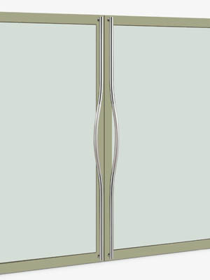 UNION ユニオン ドアハンドル ロング T69-01-024-P2025 内/外1セット※