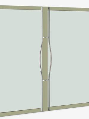 UNION ユニオン ドアハンドル ロング T69-01-024-D 内/外1セット※