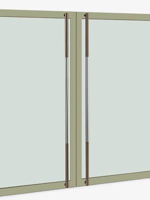 UNION ユニオン ドアハンドル ロング T51-01-011-A 内/外1セット※