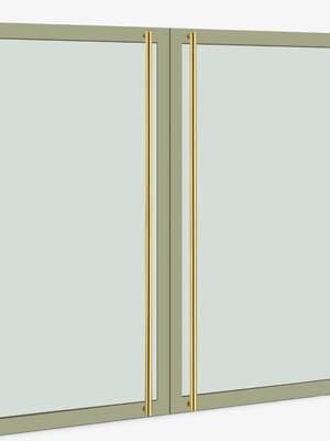 UNION ユニオン ドアハンドル ロング T51-15-001-P2025 内/外1セット※