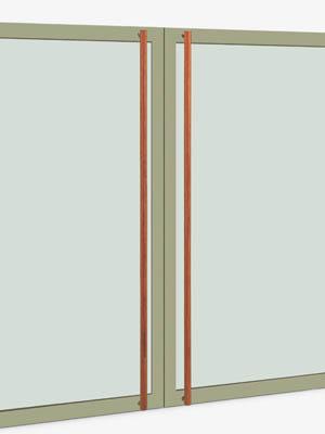 UNION ユニオン ドアハンドル ロング T51-35-050-A 内/外1セット※