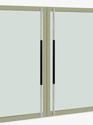 UNION ユニオン ドアハンドル ロング T62-36-107-P2025 内/外1セット※