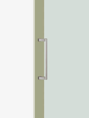 UNION ユニオン ドアハンドル ショート T2606-02-010-L300 内/外1セット