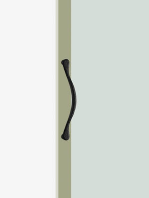 UNION ユニオン ドアハンドル ショート T2608-01-191 内/外1セット
