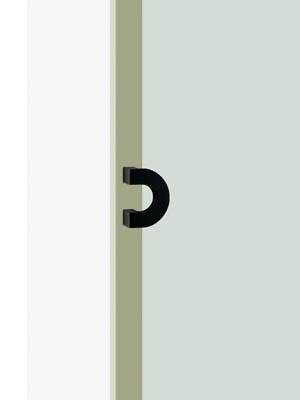 UNION ユニオン ドアハンドル プレートタイプ T152-25-101 内/外1セット