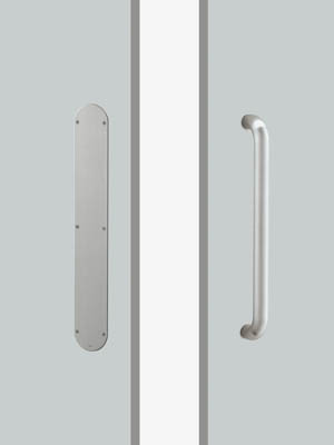 UNION ユニオン ドアハンドル プレートタイプ T5612-01-023-L330 プレートタイプ+ハンドル