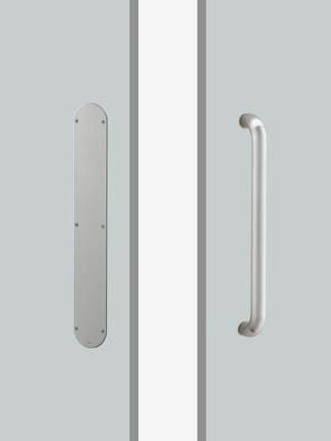 UNION ユニオン ドアハンドル プレートタイプ T5612-01-023-L500 プレートタイプ+ハンドル