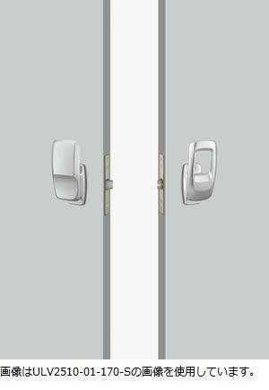 UNION ユニオン ドアハンドル プッシュプル ULV2510-01-170-S/U 内/外1セット 専用空錠付