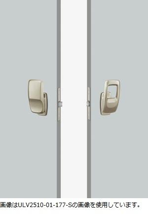 UNION ユニオン ドアハンドル プッシュプル ULV2510-01-177-S/U 内/外1セット 専用空錠付