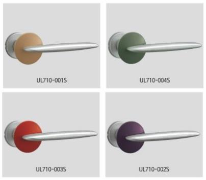UNION ユニオン レバーハンドル UL710-001S/002S/003S/004S 内/外1セット 錠前別途
