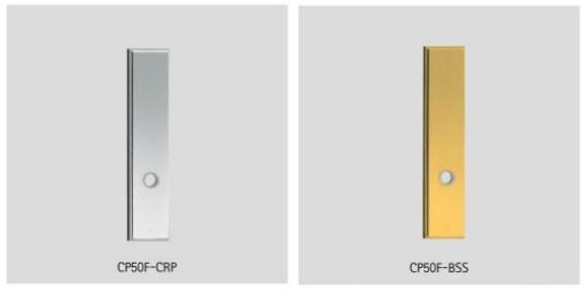UNION ユニオン レバーハンドル コーディネートプレート CP50F-CRP/BSS 2枚1組