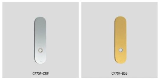 UNION ユニオン レバーハンドル コーディネートプレート CP70F-CRP/BSS 2枚1組