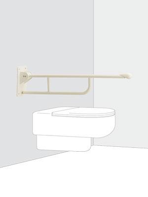 UNION ユニオン ハンドバー HBシリーズ HB-2300-01 トイレ用手摺り