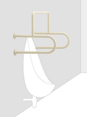 UNION ユニオン ハンドバー HBシリーズ HB-2118-01 トイレ用手摺り