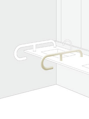 UNION ユニオン ハンドバー HBシリーズ HB-2105-01 トイレ用手摺り