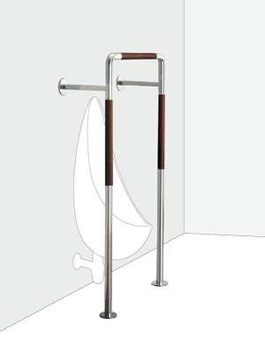 UNION ユニオン ハンドバー HBシリーズ HB-2015-11 トイレ用手摺り