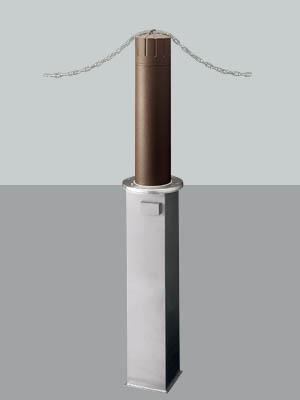 UNION ユニオン LP-585M-BRP ヒューランドスケープ ランドポール車止め※