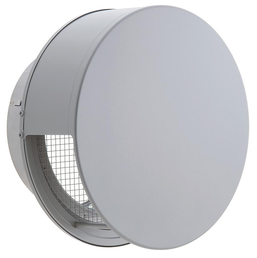 ユニックス 屋外用製品 ステンレス製 グリル 外風対策 BSW250SC3M (大口径) 丸型フラットカバー付 3メッシュ